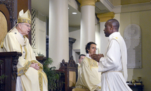 Archbishop Aymond tells new priests: 'Empty yourselves'
