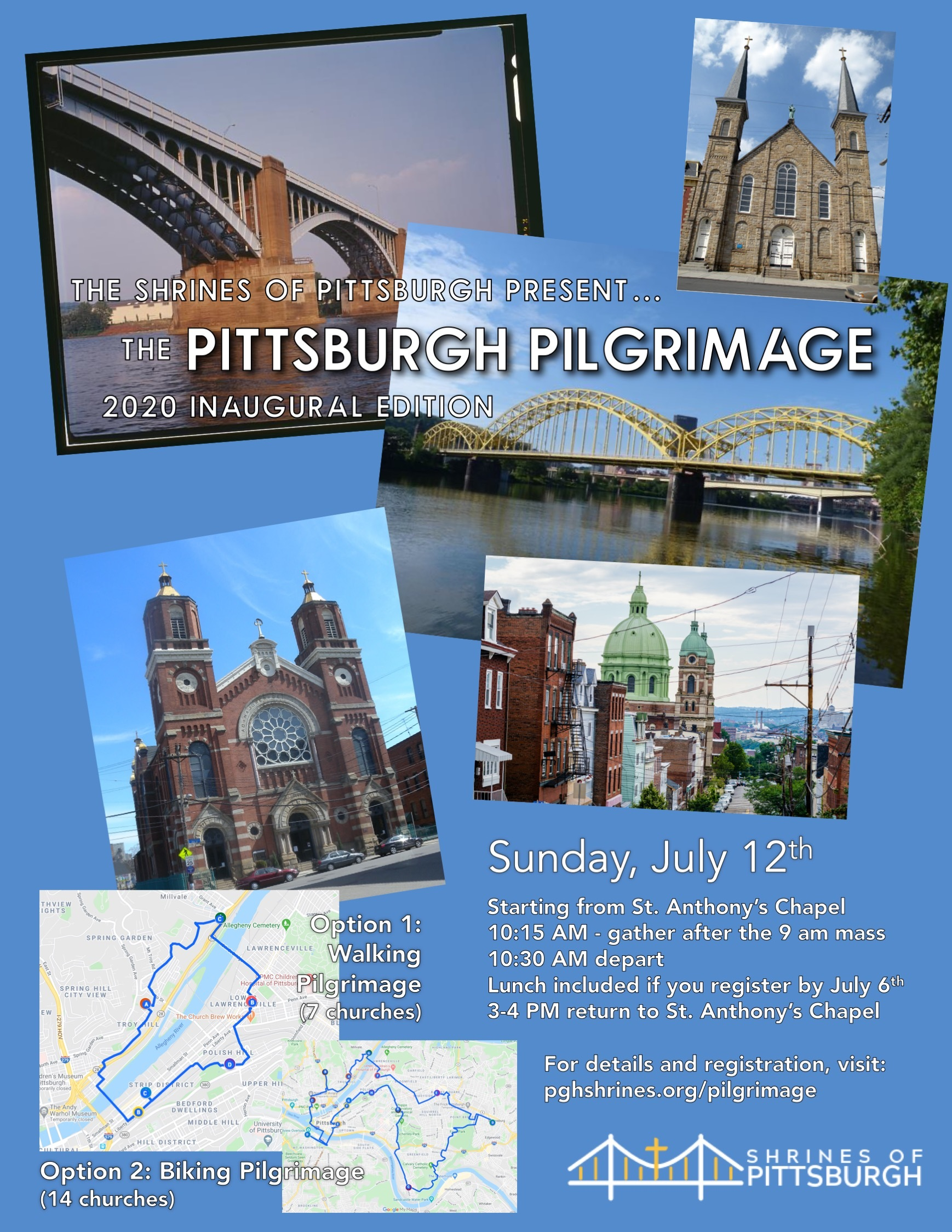 Advertisement for Pittsburgh Pilgrimage
