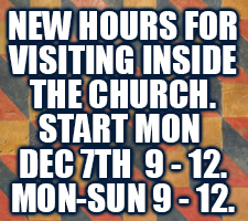 New Church Hours